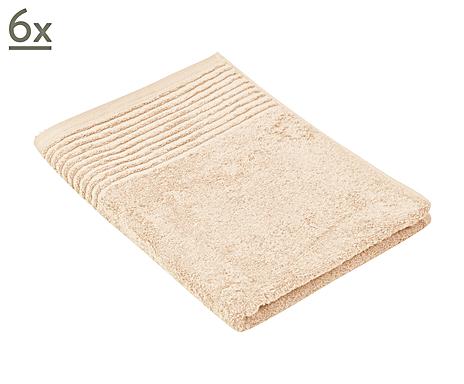 6 serviettes